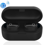 WK V20 TWS Bluetooth 5.0 Wireless Bluetooth Earphone with Charging Box, Support Calls (Black)