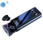 Q1S Multifunctional Wireless Bluetooth Earphone with LED Display & Charging Box & Power Bank & Flashlight (Black)
