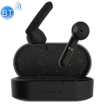 Z5 TWS Bluetooth 5.0 Touch Mini Wireless Bluetooth Earphone with Magnetic Charging Box, Support Call & Voice Assistant & IOS System Pop-up Window (Black)