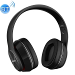 L350 Foldable Wireless Sports Stereo Bluetooth Headset, Supports IOS Power Display & HD Calling & FM & TF Card & 3.5mm AUX (Black)