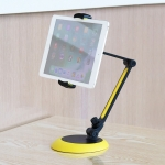 Portable Universal Adjustable Foldable Aluminium Alloy Desktop Tablet Holder Stand