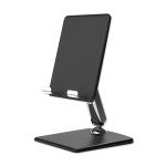 Universal Zigzag Folding Desktop Holder Bracket for Mobile Phone / Tablet (Black)
