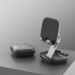 Universal Portable Folding Desktop Holder Bracket for 4-11 inch Mobile Phone / Tablet(Black)