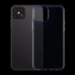 For iPhone 12 6.1 inch 0.75mm Ultra-Thin Transparent TPU Protective Case