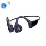 F806 Bluetooth 4.1 Bone Conduction Stereo Bluetooth Earphone(Blue)