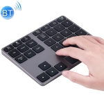 MC Saite MC-308BT 35 Keys Bluetooth Numeric Keyboard for Windows / iOS / Android(Grey)