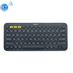 Logitech K380 Portable Multi-Device Wireless Bluetooth Keyboard (Black)