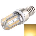 E12 SMD 3014 64 LEDs Dimmable LED Corn Light, AC 220V (Warm White)
