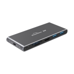 Blueendless 6 In 1 Multi-function Type-C / USB-C HUB Expansion Dock M.2 NGFF Solid State Drive