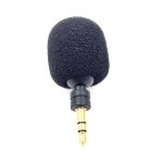 MK-5 Stereo 3.5mm Gold Plated Plug Live Mobile Phone Tablet Laptop Mini Bend Microphone