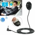 ZJ010MR Mono 3.5mm Angle Head Plug Car Navigation GPS Speaker External Paste Bluetooth Microphone, Length: 3m