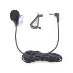 ZJ015MR Mono 2.5mm Angle Head Plug Car Navigation DVD External Paste Microphone, Length: 3m