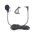 ZJ015MR Mono 3.5mm Angle Head Plug Car Navigation DVD External Paste Microphone, Length: 3m