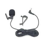 ZJ015MR Stereo 2.5mm Angle Head Plug Car Navigation DVD External Paste Microphone, Length: 3m