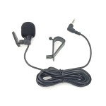 ZJ015MR Stereo 3.5mm Angle Head Plug Car Navigation DVD External Paste Microphone, Length: 3m