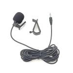 ZJ015MR Mono 2.5mm Straight Plug Car Navigation DVD External Paste Microphone, Length: 3m