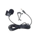 ZJ015MR Stereo 2.5mm Straight Plug Car Navigation DVD External Paste Microphone, Length: 3m