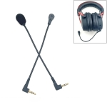 ZJ033MR-03 19cm Stereo 3.5mm Angle Head Plug Gaming Headset Sound Card Live Microphone