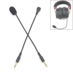 ZJ033MR-03 17cm Mono 3.5mm Straight Plug Gaming Headset Sound Card Live Microphone