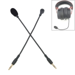 ZJ033MR-03 19cm Stereo 3.5mm Straight Plug Gaming Headset Sound Card Live Microphone