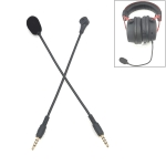 ZJ033MR-03 17cm 4 Level Pin 3.5mm Straight Plug Gaming Headset Sound Card Live Microphone