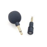 ZJ040MR Mono 3.5mm Mobile Phone Tablet Laptop Electronic Equipment Mini Straight Microphone