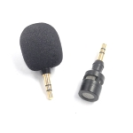 ZJ052MR-01 Stereo 3.5mm Mobile Phone Tablet Game Machine Mini Straight Microphone