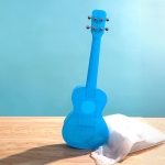 23 Inch Veneer Ukulele Little Guitar (Blue)