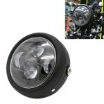 5.75 inch Round LED Motorcycle Universal Headlight Modified Spotlight (Black)