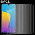 For DOOGEE X90 50 PCS 0.26mm 9H 2.5D Tempered Glass Film