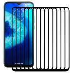 For Motorola Moto G8 Power Lite 25 PCS Full Glue Full Screen Tempered Glass Film