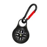 Zinc Alloy Compass Keychain Metal Carabiner