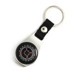 Zinc Alloy Compass Keychain