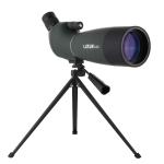 LUXUN 25-75×70 Outdoor High-definition Night Vision Bird Watching Astronomical Telescope(Dark Green)