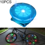 10 PCS Children Balance Car Night Riding Safety Light-emitting Clip Lights (Blue)