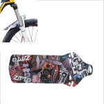 2 PCS ZTTO Bicycle Fenders Mountain Road Bike Mudguards, Long Style