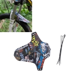 2 PCS ZTTO Bicycle Fenders Mountain Road Bike Mudguards, Short Style