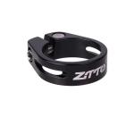 ZTTO MTB Road Bike Seatpost Clamp Aluminium Alloy Bicycle Parts,Diameter: 31.8mm (Black)