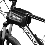 WILD MAN E6 Waterproof Front Bag MTB Large Capacity Bicycle Tube Bag Riding Accessories