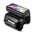 WILD MAN E6S Waterproof Front Bag Touch Screen MTB Bag Large Capacity Bicycle Tube Bag Riding Accessories