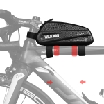WILD MAN EX Waterproof Front Bag MTB Mobile Phone Sets Bicycle Tube Bag Riding Accessories