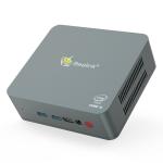 Beelink U57 Windows 10 System Mini PC, Intel Core i5-5257U 4 Core up to 3.10GHz, Support Dual-band WiFi, Bluetooth, RJ45,  8GB RAM DDR3L + 128GB SSD, US Plug