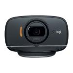Logitech B525 360 Degrees Rotation Auto Focus Foldable HD 1080P Webcam, Built-in Noise-cancelling Microphone