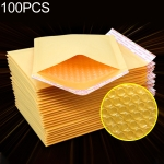 100 PCS Kraft Paper Envelope Bag Express Bubble Bag Packaging Bag, Size: 15×18+4cm