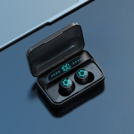 Galante S15 Bluetooth 5.0 True Wireless Bluetooth Earphone with Charging Box (Black)