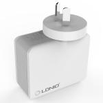 LDNIO A4403 4.4A 4 x USB Ports Smart Travel Charger, AU Plug