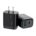 JOYROOM L-QP182 Simple Series 18W Doul Port PD+QC3.0 Travel Charger Power Adapter, CN Plug