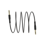 Borofone BL1 Soundlink PVC AUX Audio Cable, Length: 1m (Black)