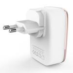 LDNIO A4404 4.4A 4 x USB Ports Smart Travel Charger, EU Plug