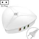 LDNIO A6801 6 x USB Ports QC3.0 Smart Travel Charger, EU Plug